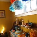 12 Decorative Paper poms